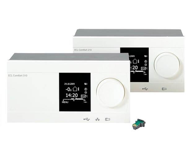 Электронный регулятор Danfoss ECL Comfort 310, 087H3040