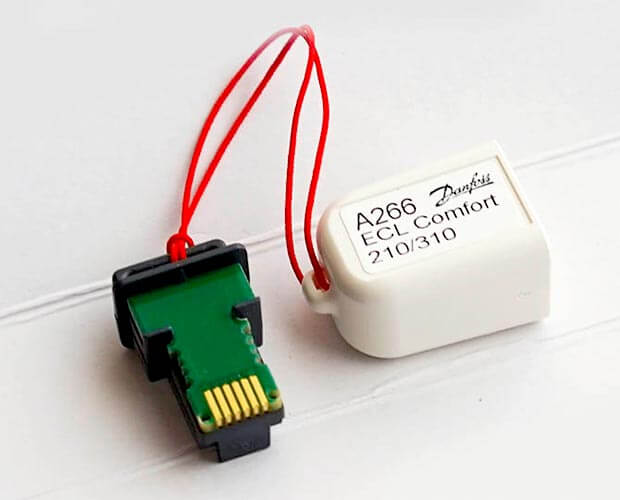 Ключ ECL Comfort 310 A331 087H3805